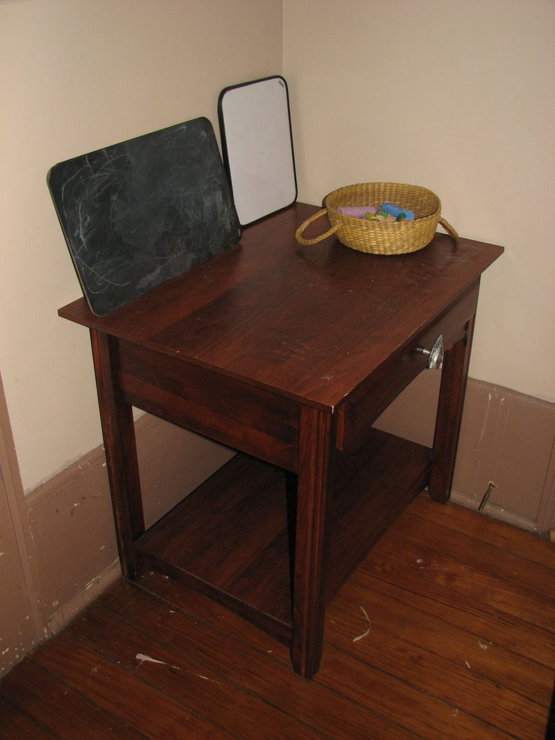 Slate board table