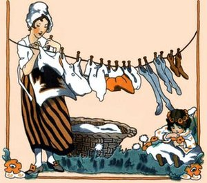 Vintagehanginglaundry